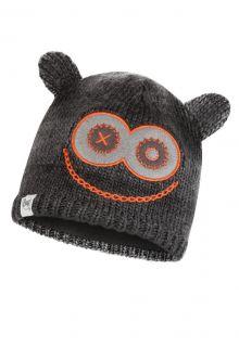 Buff---Knitted-Polar-Hat-Jolly-Monster-for-children---Grey