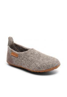 Bisgaard---Home-shoe-for-babies---Basic-wool---Grey