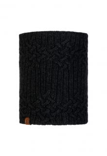 Buff---Knitted-Polar-Tube-scarf-New-Helle-for-adults---Graphite