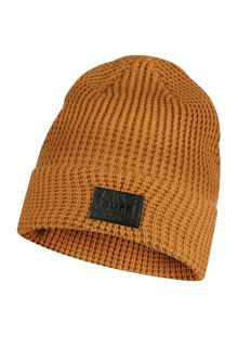 Buff---Knitted-Hat-Kirill-for-adults---Ochre