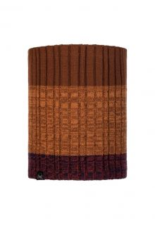 Buff---Knitted-Polar-Tube-scarf-Igor-for-adults---Brown