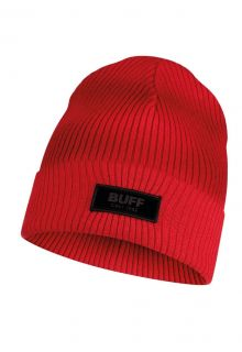 Buff---Knitted-Hat-Marik-for-children---Red