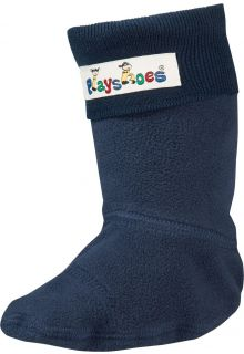 Playshoes---Fleece-socks-for-Rainboots---Navy