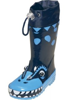 Playshoes---Rubber-Boots-Dino---Blue
