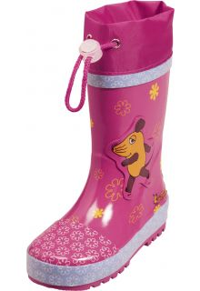 Playshoes---Rubber-Boots-Mouse-Flowers---Pink