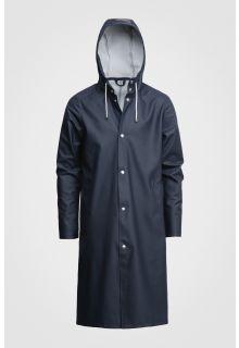 Stutterheim---Raincoat-for-men-and-women---Stockholm-Long---Navy