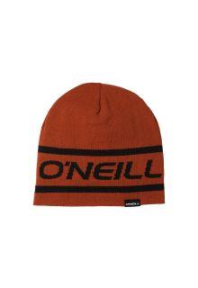O'Neill---Reversible-logo-beanie-for-men---Rooibos-Red