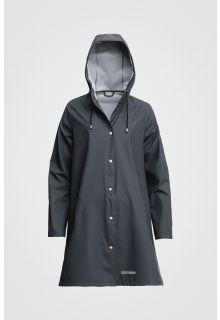 Stutterheim---Raincoat-for-women---Mosebacke-Lightweight---Charcoal
