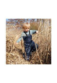 CeLaVi---Rain-pants-with-fleece-for-kids---Solid---Navy