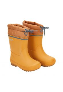 CeLaVi---Thermal-wellington-boots-for-kids---Linning---Mineral-yellow