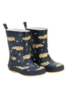 CeLaVi---Wellington-boots-for-kids---Race-car---Navy
