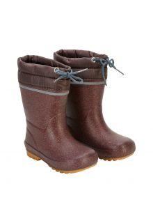 CeLaVi---Thermal-wellington-boots-for-kids---Linning---Fudge