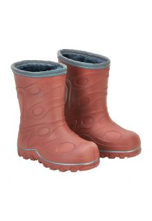 CeLaVi---Thermal-wellington-boots-for-kids---Embossed---Mahogany-