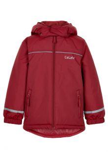 CeLaVi---Snow-jacket-for-kids---Solid---Dark-red