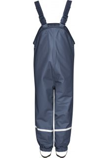 Playshoes---Rain-Bib-Trousers-with-Fleece-lining---Navy