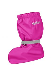Playshoes---Rain-booties-with-fleece-lining-for-kids---Neon-pink