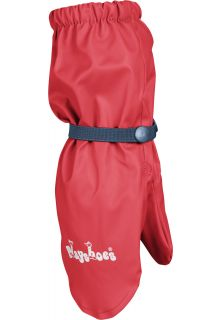 Playshoes---Gloves-with-fleece---Red