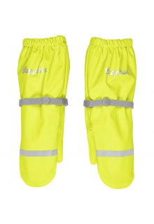 Playshoes---Rain-gloves-with-fleece-lining-for-kids---Neon-yellow
