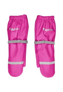 Playshoes---Rain-gloves-with-fleece-lining-for-kids---Neon-pink