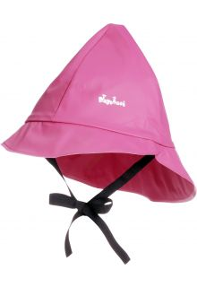 Playshoes---Rain-cap-with-cord---Pink