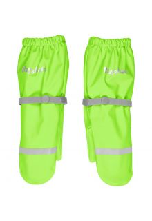 Playshoes---Rain-gloves-with-fleece-lining-for-kids---Neon-green