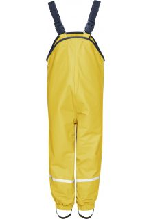 Playshoes---Rain-Bib-Trousers-with-Fleece-lining---Yellow