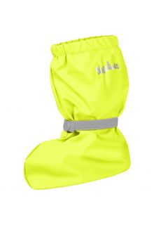 Playshoes---Rain-booties-with-fleece-lining-for-kids---Neon-yellow