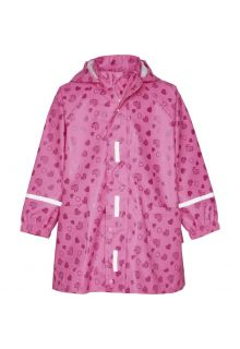 Playshoes---Raincoat-for-girls---Hearts-allover---Pink