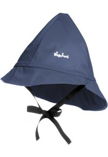 Playshoes---Rain-cap-with-cord---Navy