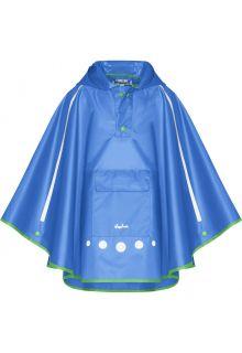 Playshoes---Rainponcho-for-kids---Foldable---Blue