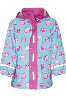 Playshoes---Rain-Coat-Owls---Turquoise