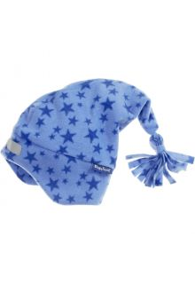 Playshoes---Fleece-pointed-cap-for-kids---Stars---Blue
