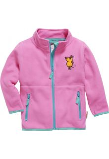 Playshoes---Fleece-jacket-for-kids---Mouse---Pink