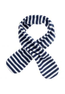 Playshoes---Fleece-scarf-for-kids---Onesize---Navy/white