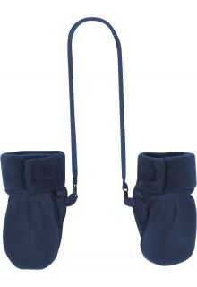 Playshoes---Fleece-Mittens---Navy