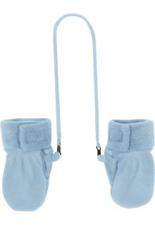 Playshoes---Fleece-Mittens---Light-blue