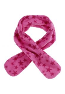 Playshoes---Fleece-scarf-for-kids---Onesize---Stars---Pink