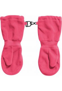 Playshoes---Fleece-Mittens---Pink