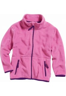 Playshoes---Fleece-jack-with-long-sleeves---Pink/Purple