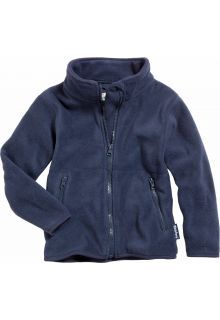 Playshoes---Fleece-jack-with-long-sleeves---Navy