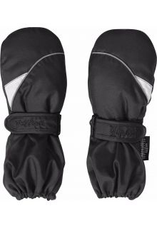 Playshoes---Winter-Mittens-with-velcro---Black