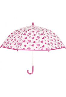 Playshoes---Transparent-umbrella-for-girls---Hearts