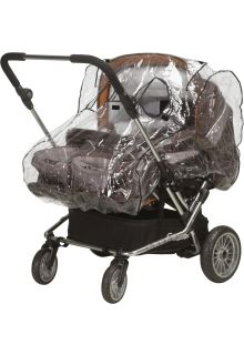 Playshoes---Universal-Rain-Cover-for-Twin-Stroller---transparent
