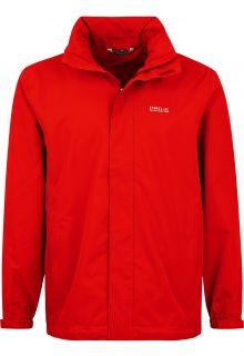 Pro-X-Elements---Packable-rain-jacket-for-men---Gerrit---Lava-red