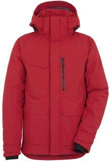 Didriksons---Raincoat-for-men---Sebastian-Parka---Flow-Red