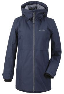 Didriksons---Padded-raincoat-for-women---Helle-Parka---Darkblue