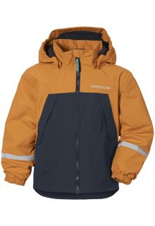 Didriksons---Rain-jacket-with-fleece-lining-for-babies---Enso---Burnt-Glow