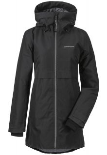 Didriksons---Padded-raincoat-for-women---Helle-Parka---Black