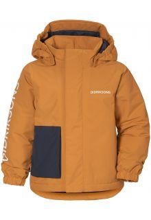 Didriksons---Rain-jacket-for-babies---Lovis---Burnt-Glow