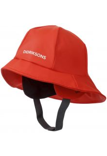 Didriksons---Rain-hat-for-children---Southwest---Poppy-Red
